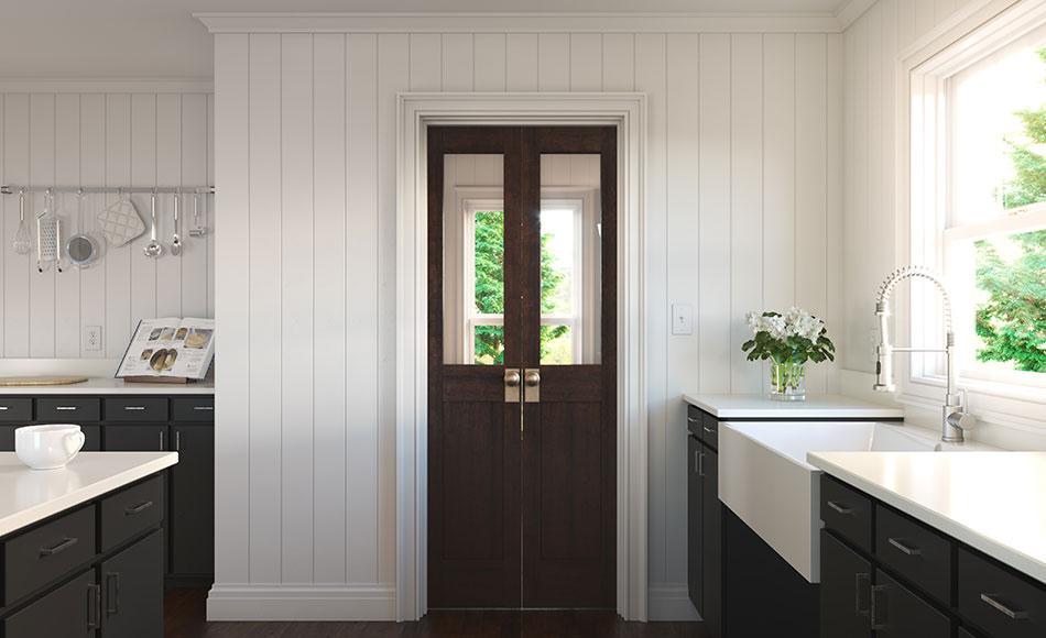 Modern Craftsman Hamptons Kitchen