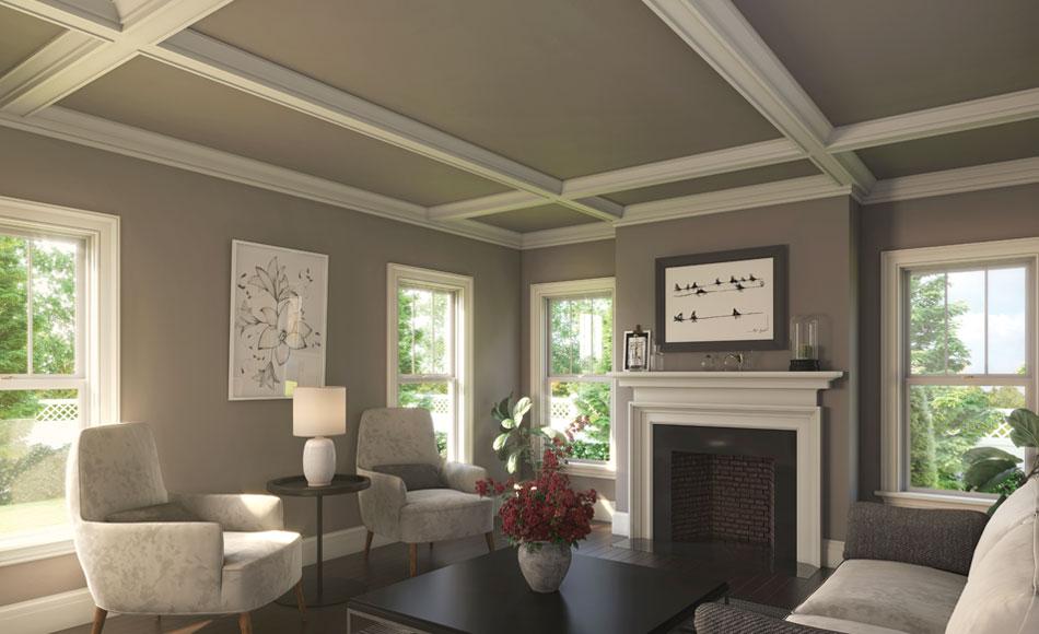 Modern Craftsman Living Room