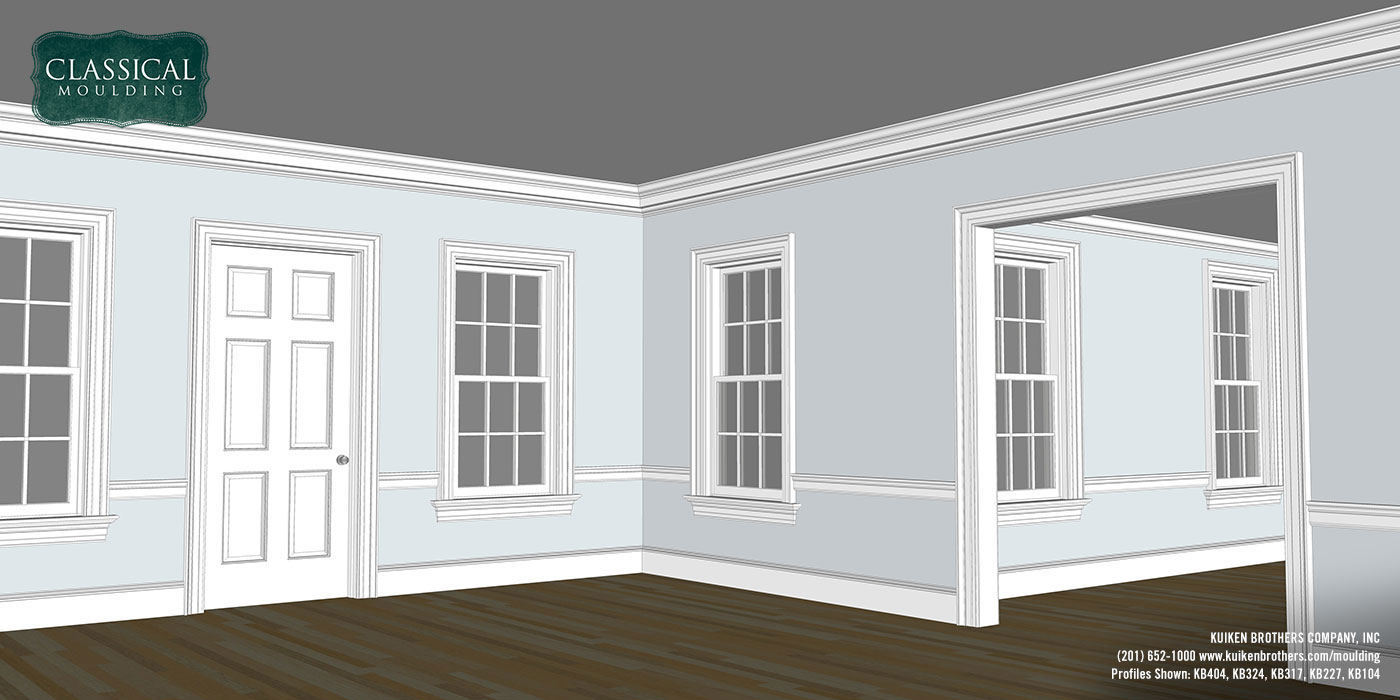 Colonial Revival Moulding Package