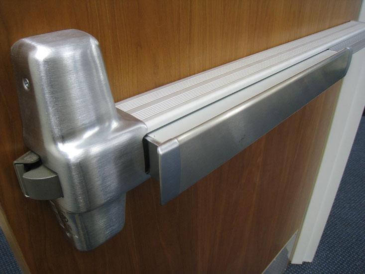 Von Duprin Concealed Vertical Rod Exit Device Adjustment