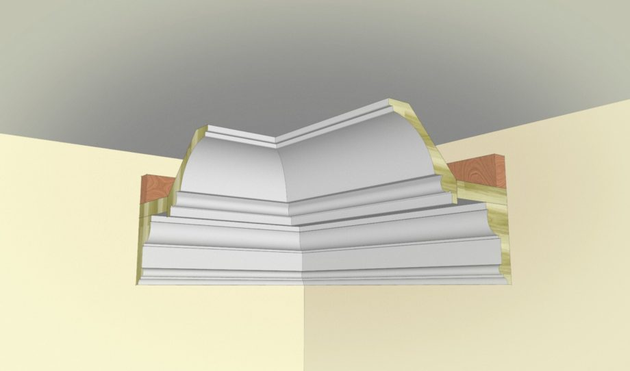 Cove crown molding profiles images for Contemporary trim profiles