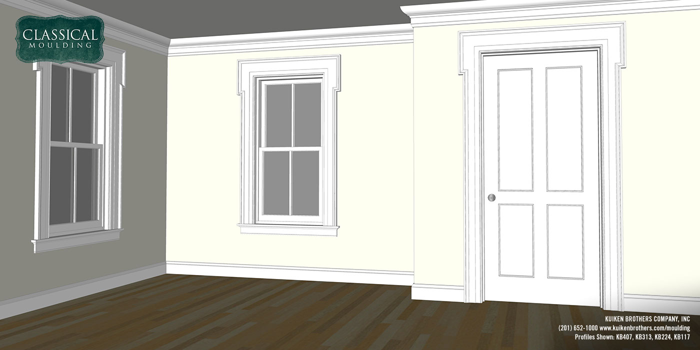 Greek Revival Moulding Package