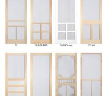 Combination Door Company Wood Screen Doors