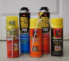 DOW Great Stuff Spray Foam Insulation