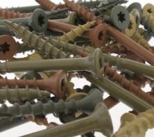 Deckfast Ceramic/ Epoxy Coated Deck Screws for Treated Lumber
