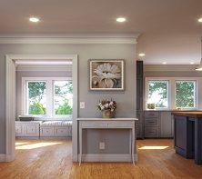 Modern Craftsman Lakehouse Kitchen
