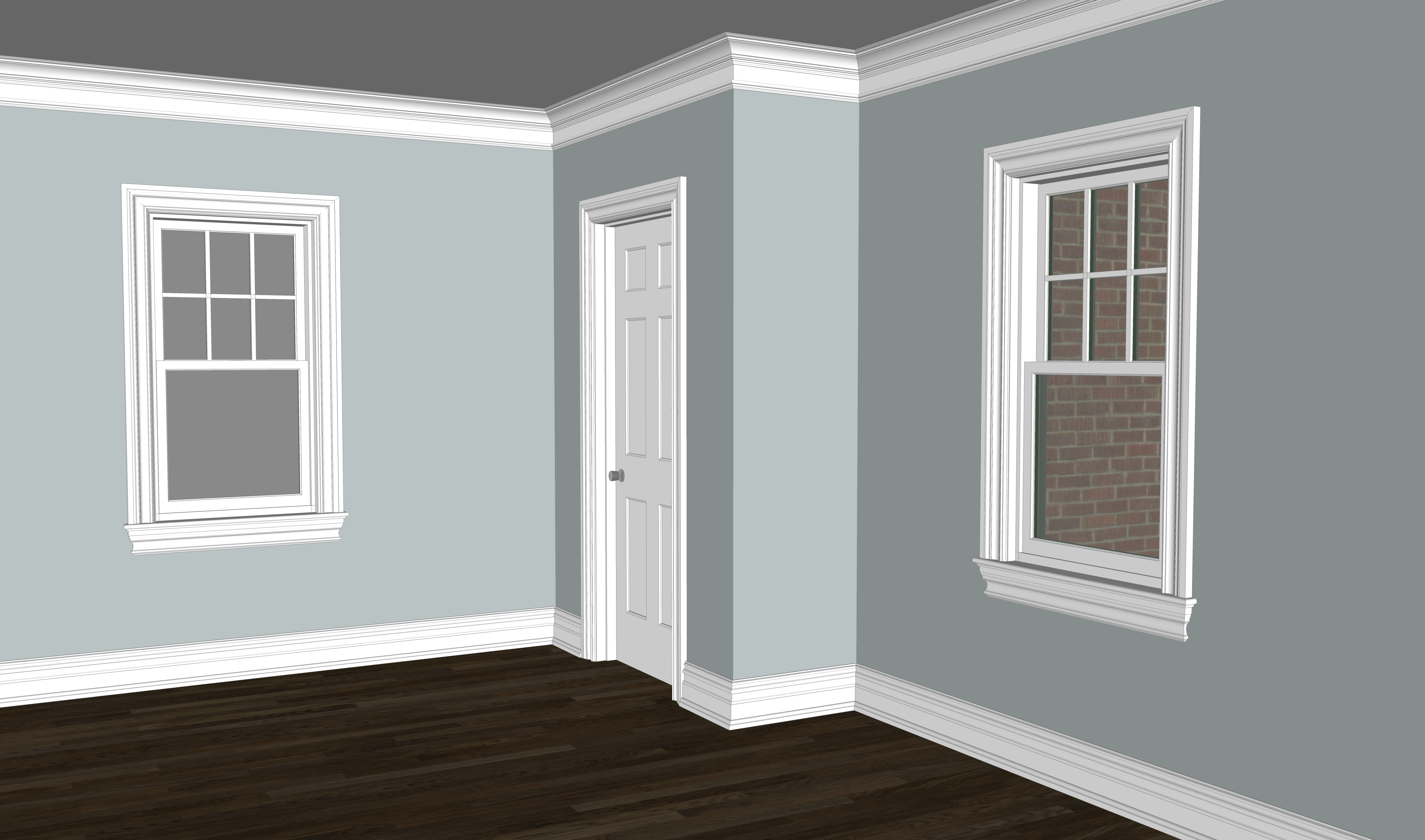 Morris Colonial Moulding Package
