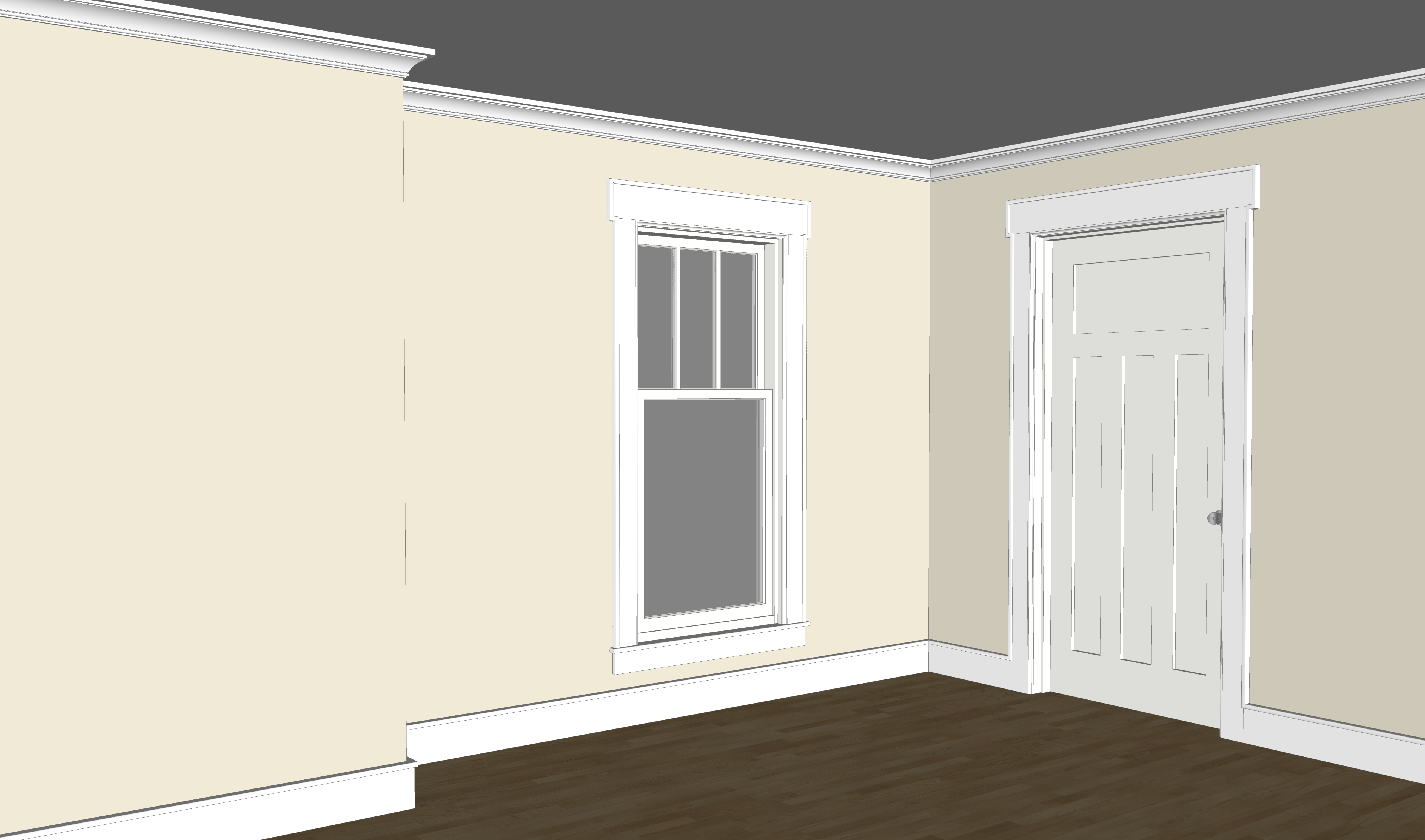 Hudson Valley Craftsman Moulding Package