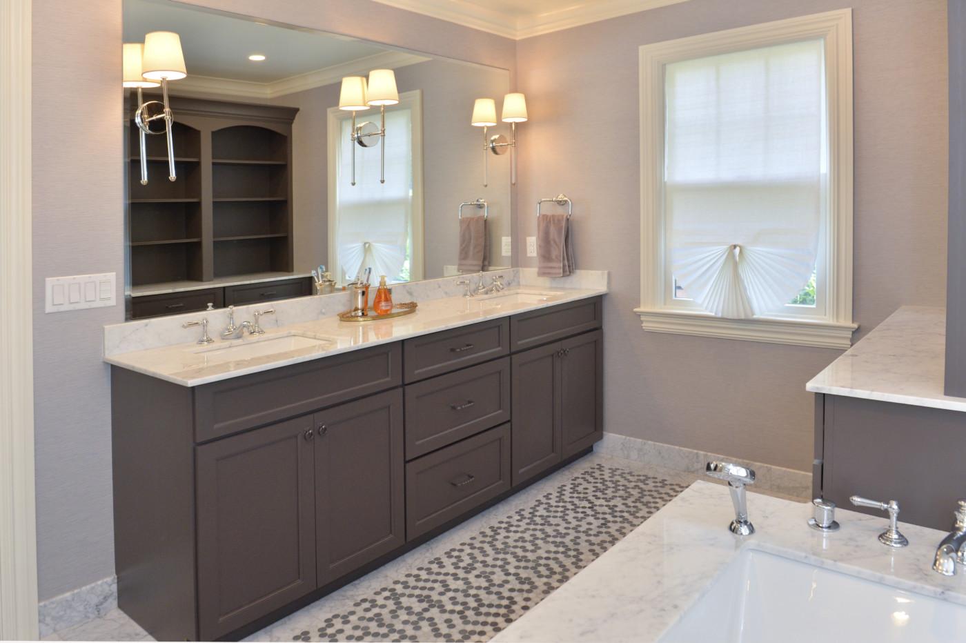 Ridgewood Nj Bathroom Cabinetry Project Designed