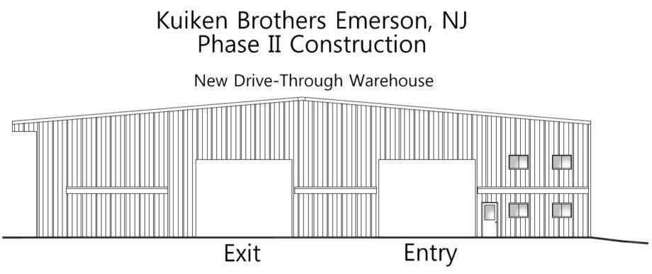 Kuiken Brothers Emerson Bergen County NJ Expansion Building Materials Lumber Windows Doors Drywall Steel (4)