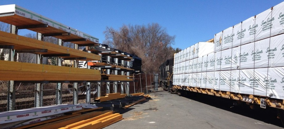 Kuiken Brothers Emerson NJ Building Materials Lumber Railroad Delivery
