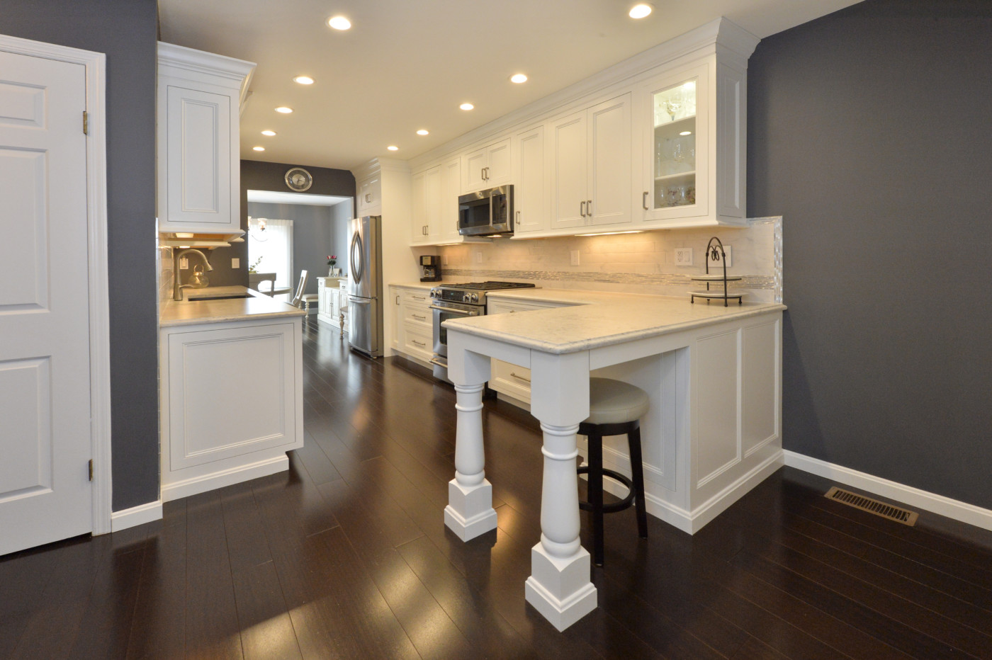 Kuiken Brothers Kitchen Cabinetry Project In Hunterdon County, New Jersey    Kuiken Brothers