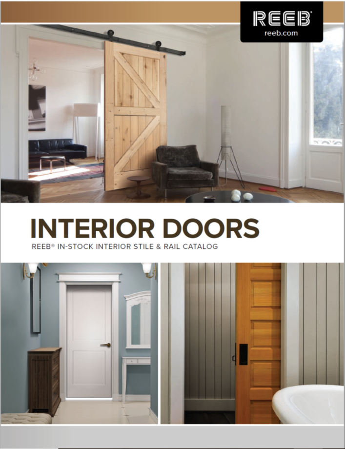 Click On Either Of The Catalogs Above To Download The Most Current Catalogs  Featuring Readily Available Doors From REEB Millwork. Images