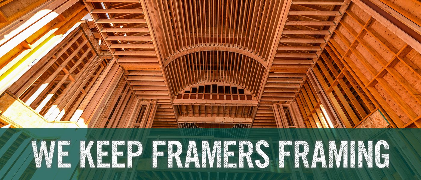 We Keep Framers Framing