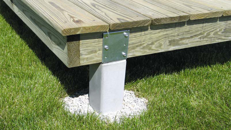 Perma Column Pre Cast Concrete Deck Posts Now In Stock At