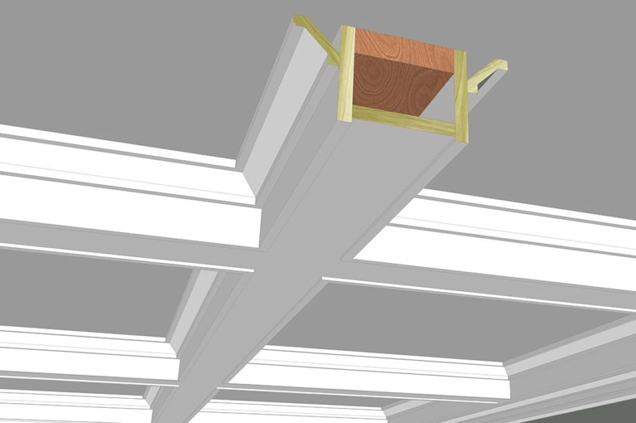 Download Coffered Ceiling Moulding Plans From Kuiken Brothers Moulding Design Guide Kuiken Brothers