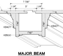 Modern Craftsman Shiplap Coffered Ceiling