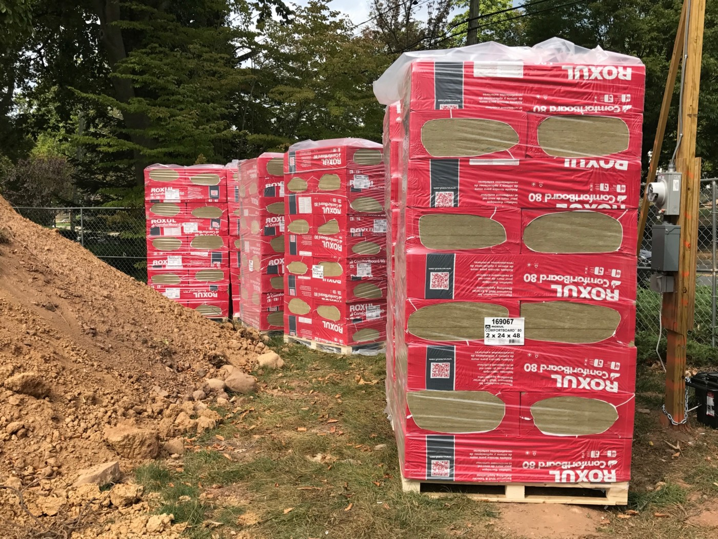 Rockwool Comfortboard 80 Rigid Mineral Wool Insulation
