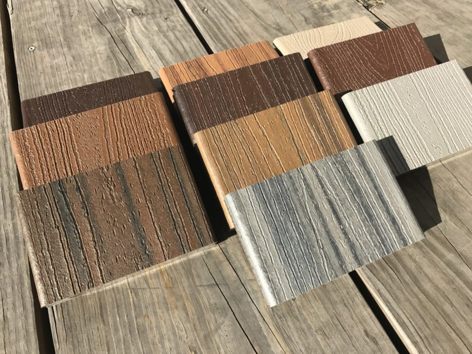 Kuiken Brothers Stocks All Trex Transcend Decking Color