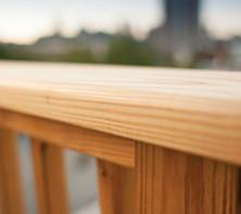 Pressure Treated Wood Railing