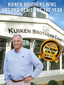 Kuiken Brothers Wins HBS Pro Dealer of the Year Award