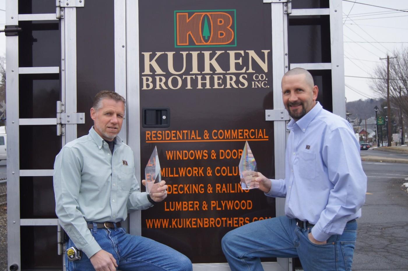 Kuiken Brothers Ranks Highest In Country For Andersen