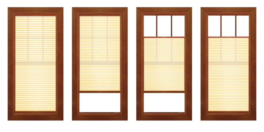 Marvin windows doors featuring integrated shades for Location of doors and windows