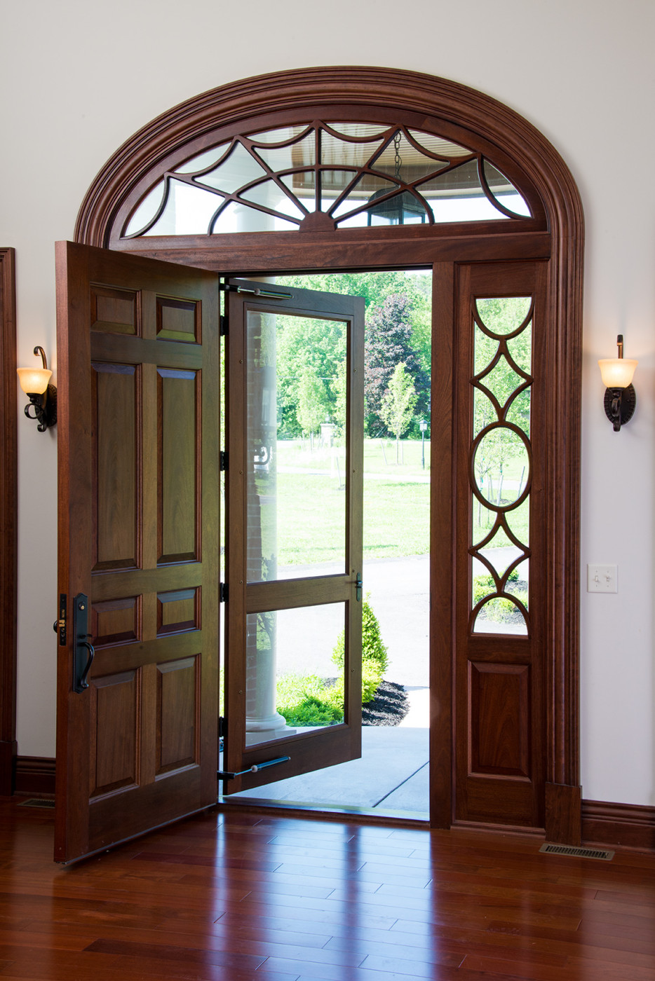 Entry front doors kuiken brothers for Residential front entry doors