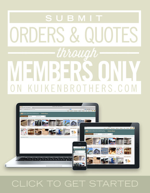 Submit Orders and Quotes through Members Only