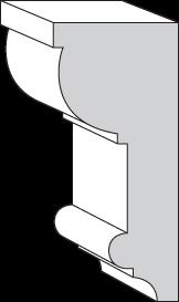 KB406 Chair Rail